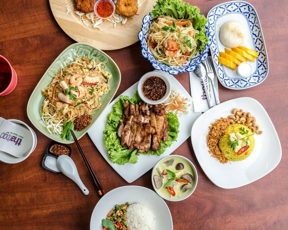 Thai To Go food flatlay
