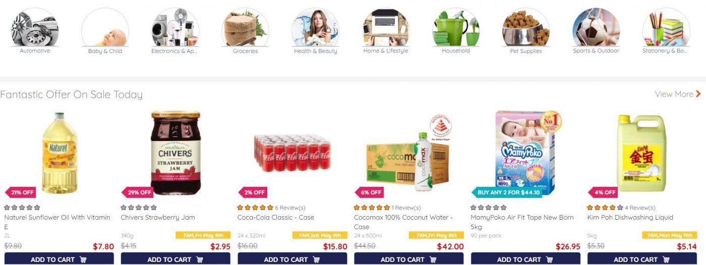 Eamart range of products