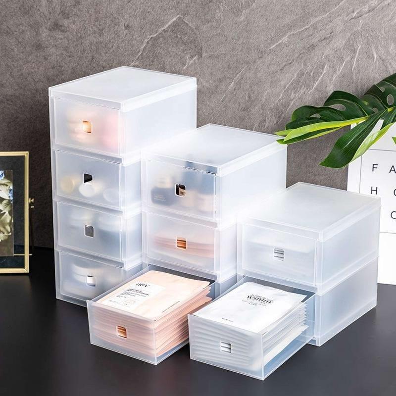 Stackable home organizer box