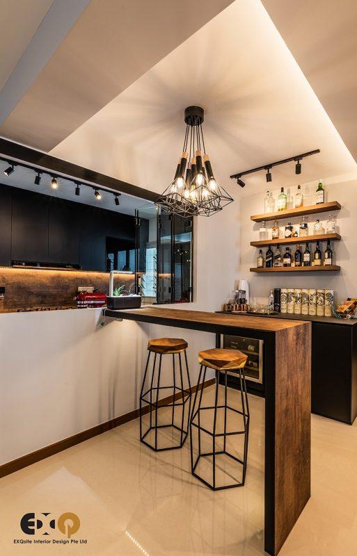 exqsite/ kitchen bar