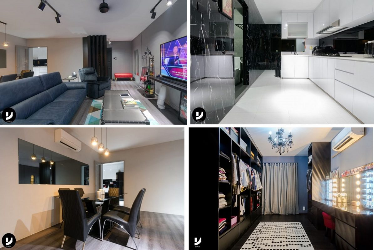 4-room HDB flat renovation ideas - 296C Compassvale Crescent