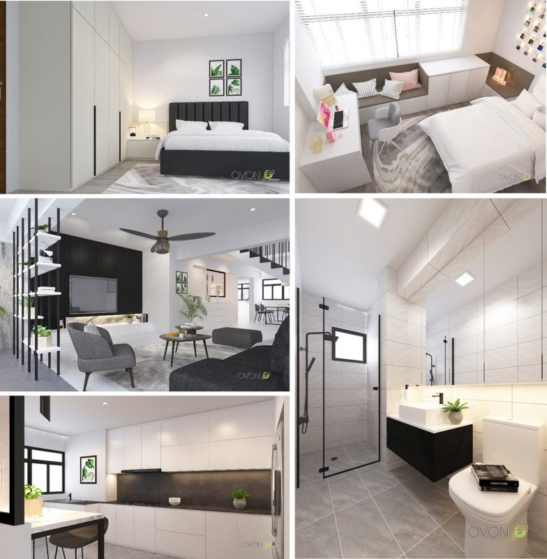 4-room HDB flat renovation ideas- 472 Jurong West St 41