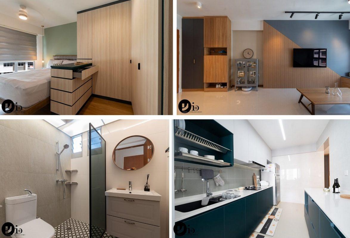 4-room HDB flat renovation ideas- 612B Tampines North