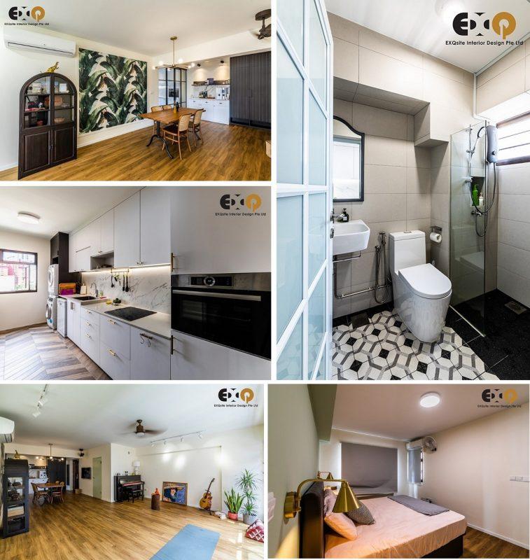 4-room HDB flat renovation ideas- 73 Redhill Road