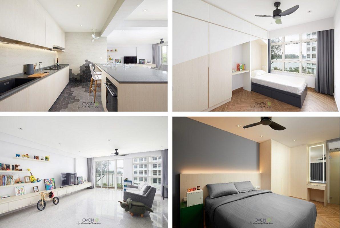 4-room HDB flat renovation ideas Blk322D Punggol Bayview