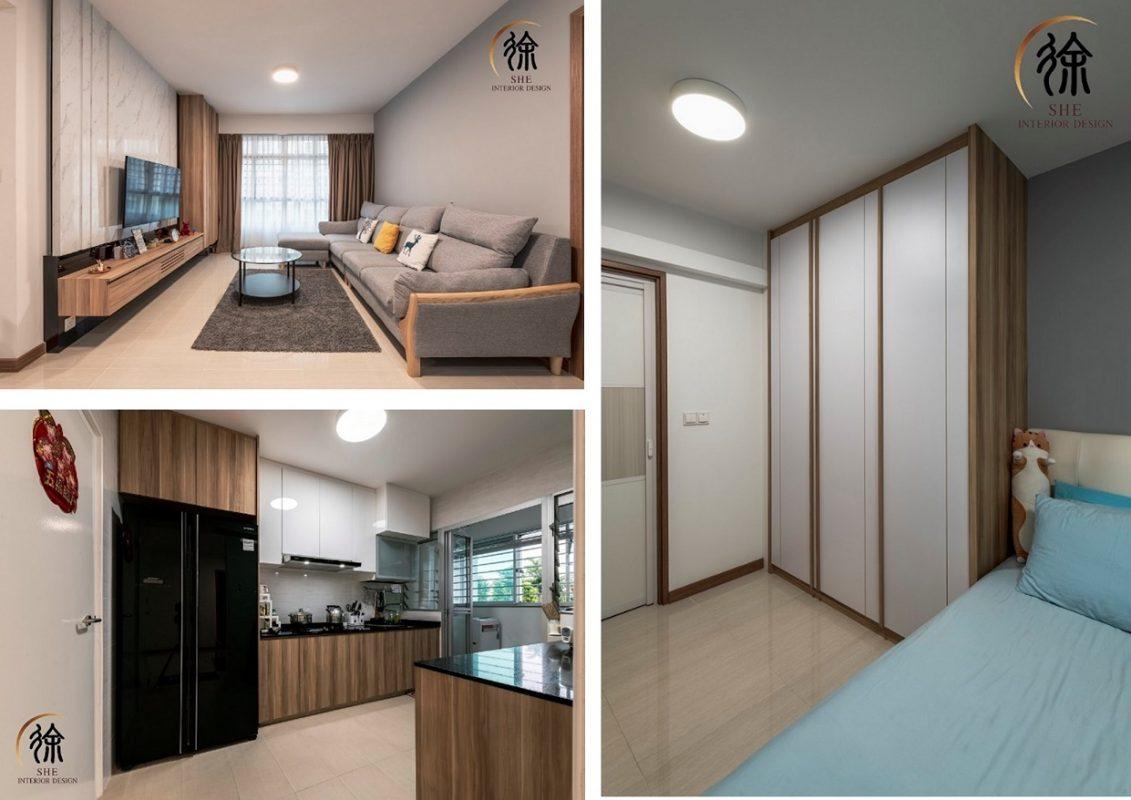 4-room HDB flat renovation ideas - Bukit Batok West Avenue 8