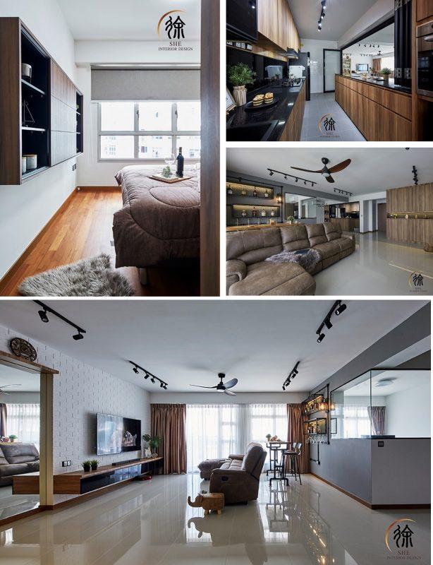 4-room HDB flat renovation ideas- Sumang Walk