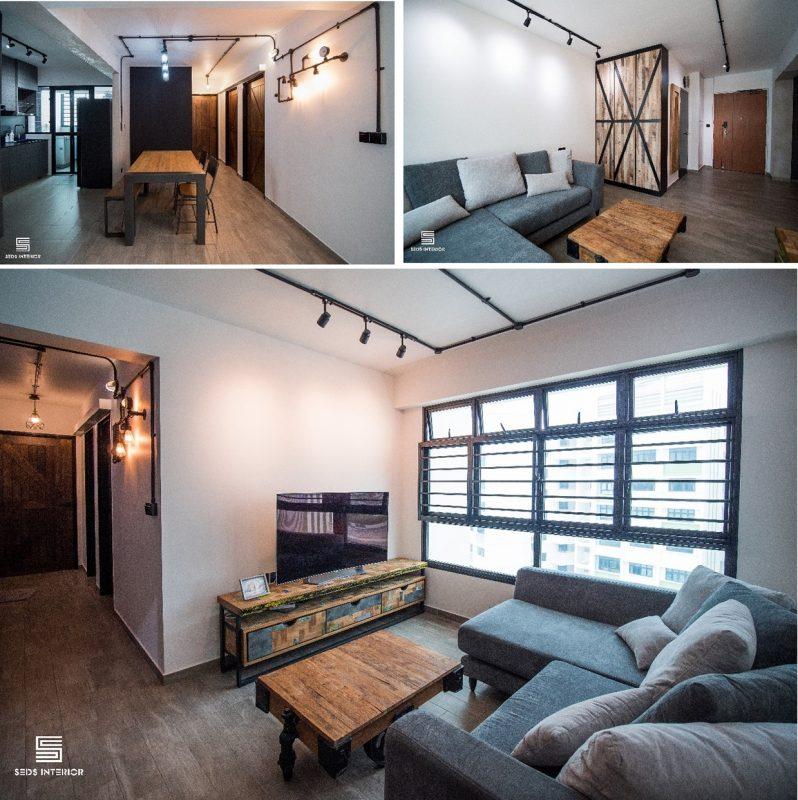 4-room HDB flat renovation ideas - Yishun 2