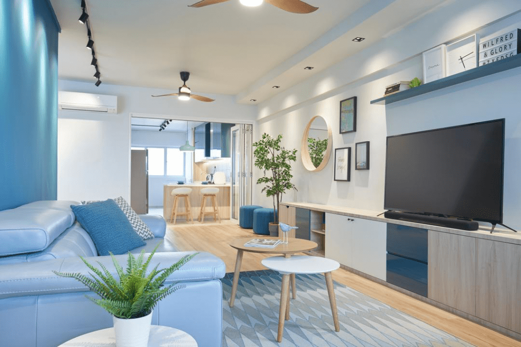 a hdb floorplan