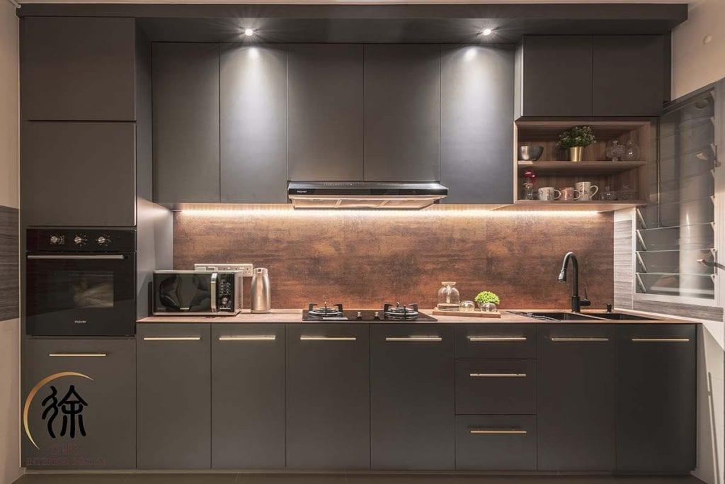 Minimalist concept kitchen