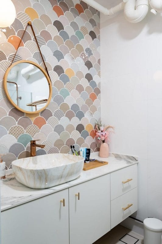 elpis interior - bathroom backsplash 2