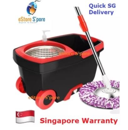 spin mop trolley 1