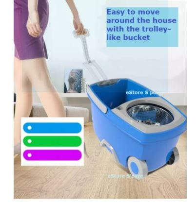 spin mop trolley 3