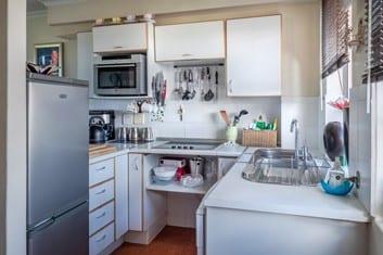 not optimizing kitchen space