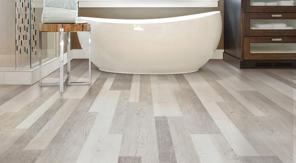 wood bathroom flooring