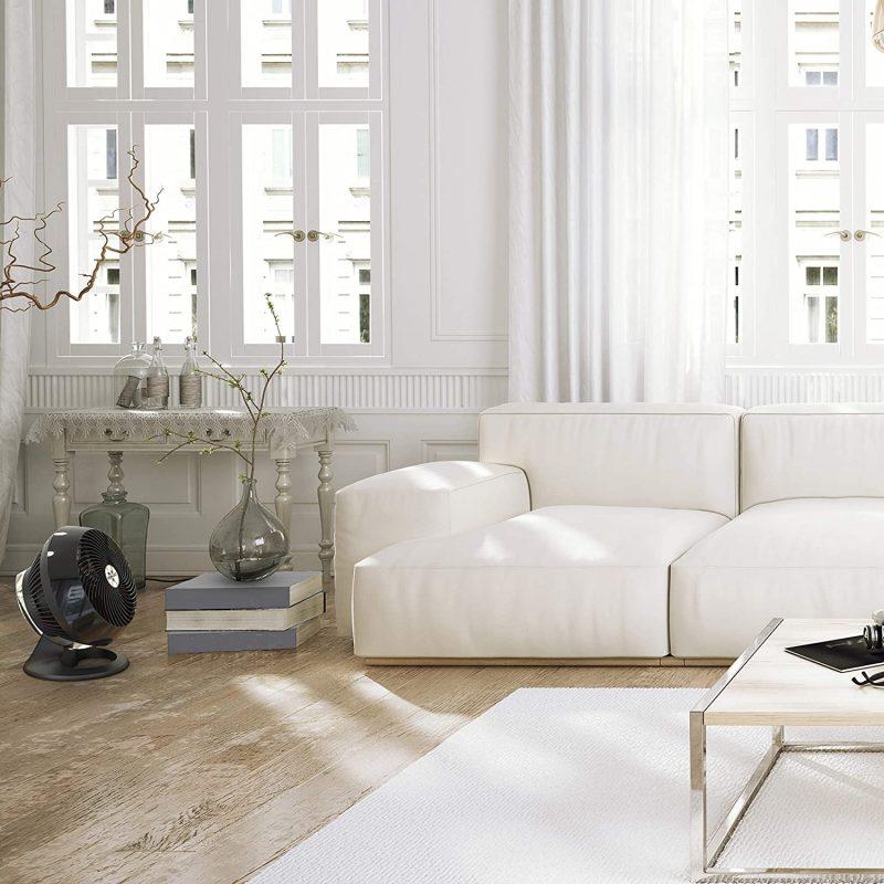 Vornado Whole Room Air Circulator at living room