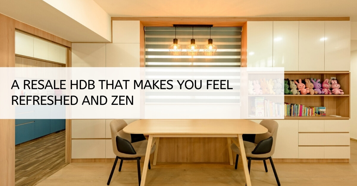 A resale HDB that makes you feel refreshed.