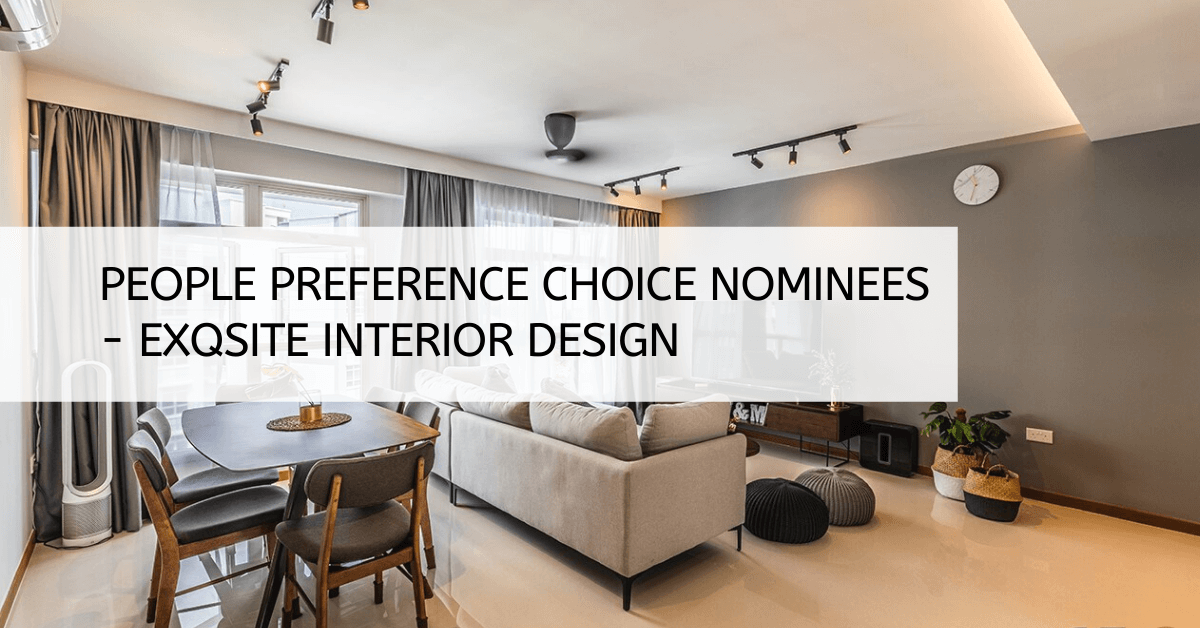 People Preference Choice Nominees - Exqsite Interior Design