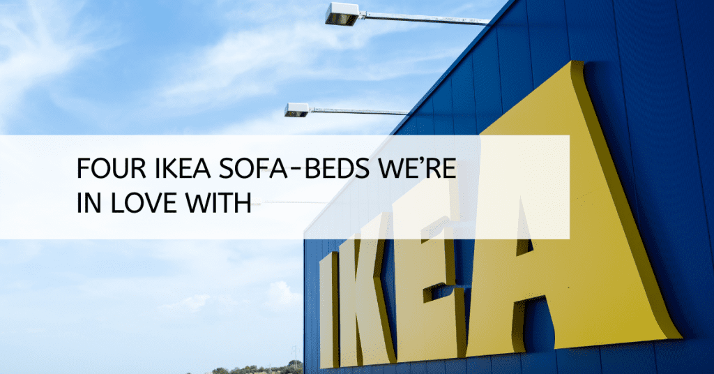 Four IKEA Sofa-beds We're In Love With