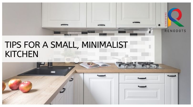 Tips for a small, minimalist kitchen