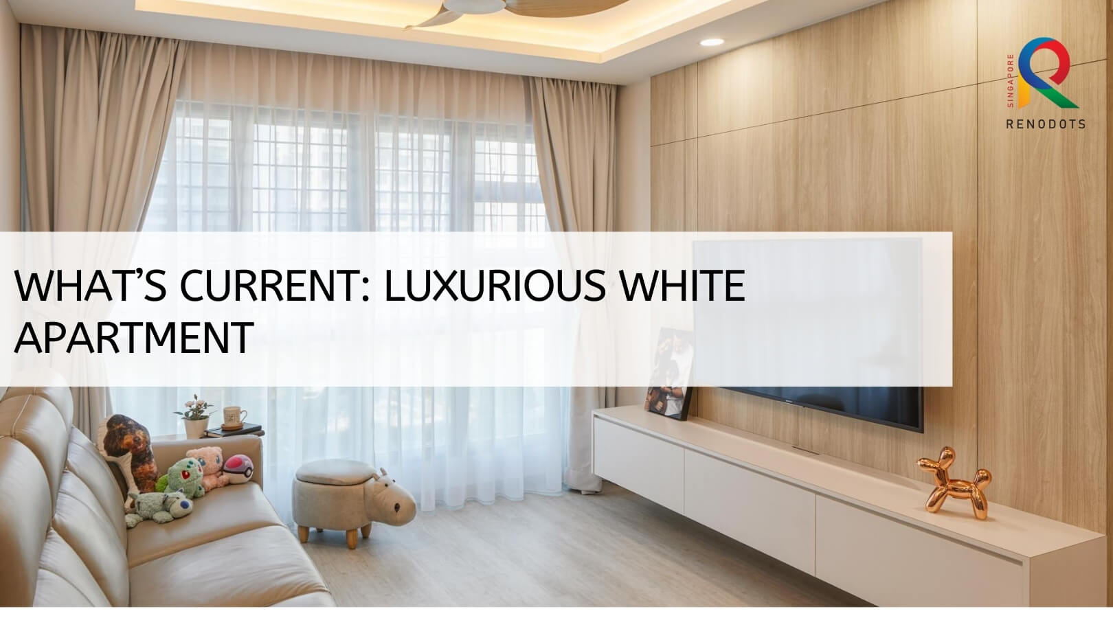What's Current: Luxurious White Apartment