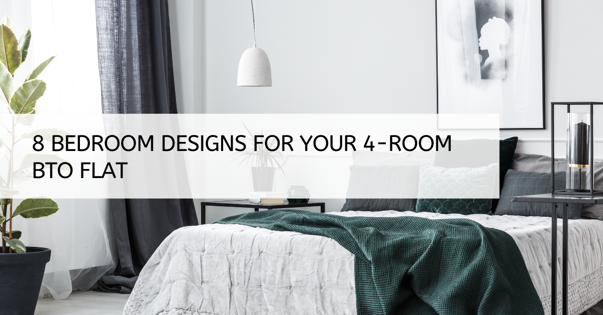 8 Bedroom Designs For Your 4-Room BTO Flats