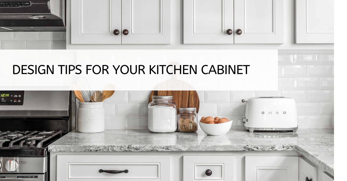 Design Tips for Your Kitchen Cabinet
