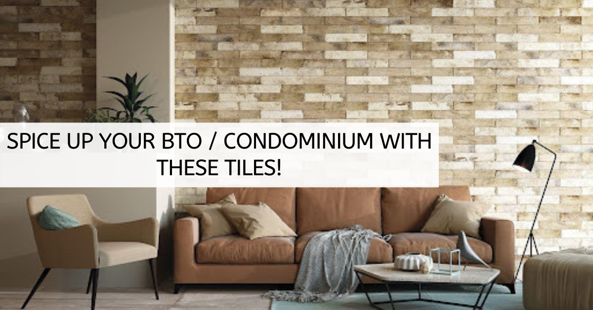 Spice up your BTO / Condominium with these tiles!