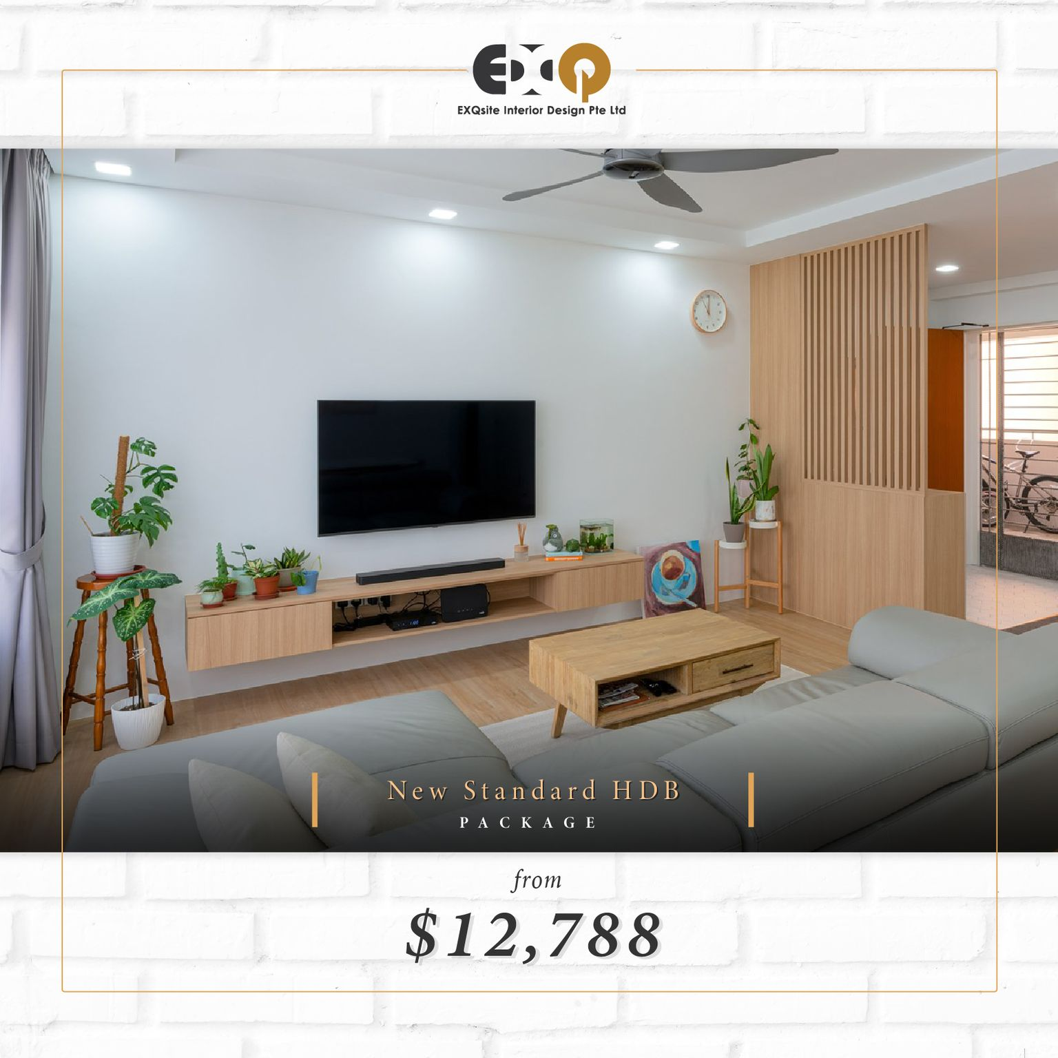 Exclusive Packages by Exqsite Interior Design